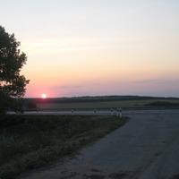 опять Ростовское солнце. но теперь на заход...